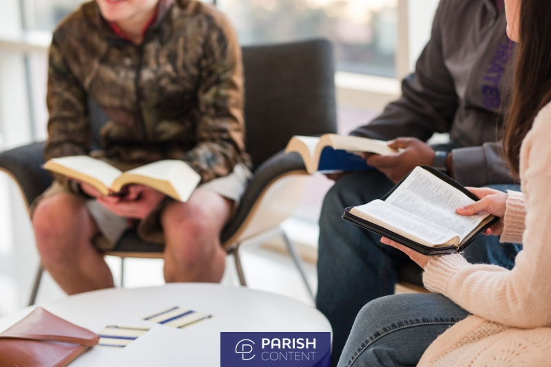 Young Adults Reading Bible